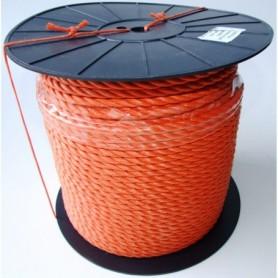 Touw Nylon Oranje 10 MM per meter