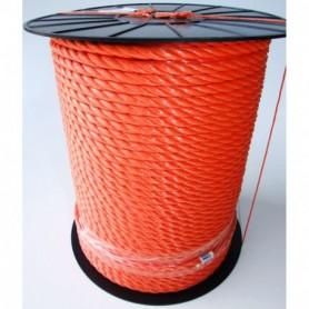 Touw Nylon Oranje 12 MM per meter