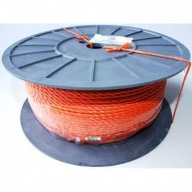 Touw Nylon Oranje 4 MM per meter