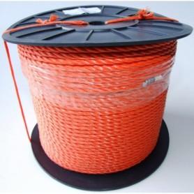 Touw Nylon Oranje 6 MM per meter