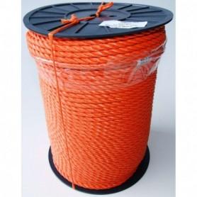 Touw Nylon Oranje 8MM per meter