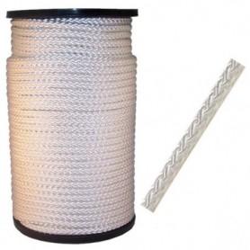 Touw Nylon Wit 8 mm per meter