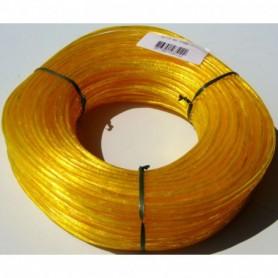 Droogmolen waslijndraad 60 meter Geel