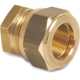 Klemkoppeling Eindstop Bonfix 15 mm