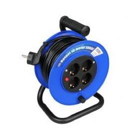Kabelhaspel Standaard Blauw 3x1 15 meter
