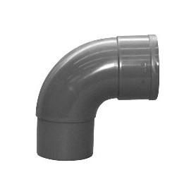 PVC Bocht 90 gr M/S 080 RWA