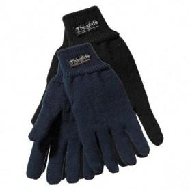 Handschoen Winter gebreid acryl Zwart M