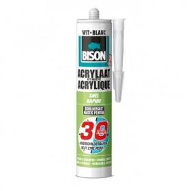 Kit Bison Acrylaatkit 30 Min Wit 310 ml Koker