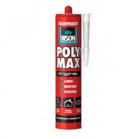 Kit Bison Poly Max Original Transparant 300 gr Koker
