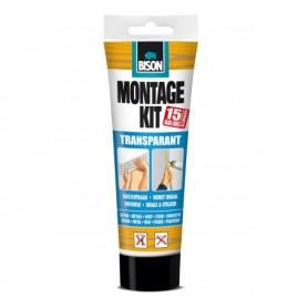 Kit Bison Montagekit Transparant 250 gr Tube