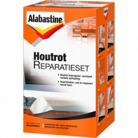 Alabastine Houtrotvuller 500 gram Set