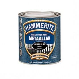 Hammerite Hamerslag H115Z Zilvergrijs 750 ML