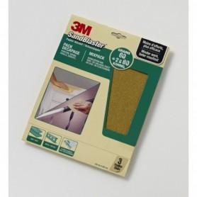 Schuur 3M SB Schuurpap.Groen 60376 Set A3ASSORTI