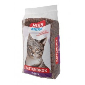 Huismerk 3 mix Kattenbrok 10 kg