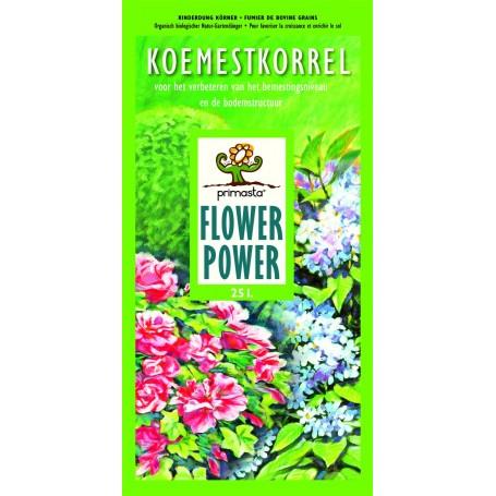 Koemestkorrel Flower 25 liter