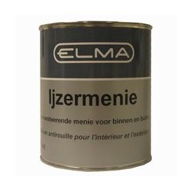 Verf Elma Grondverf ijzermenie (rood) 750 ML