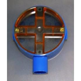 Inbouwdoos Blauw 5/8 30 mm