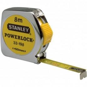 Rolbandmaat 8mtr powerl 0-33-198 Stanley