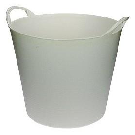 KUIP FLEXIBEL WIT 40 liter