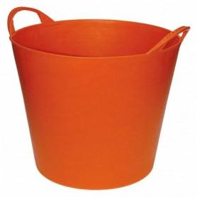 KUIP FLEXIBEL ORANJE 40 liter