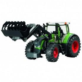 Bruder Tractor FENDT 936 VARIO MET VOORLADER