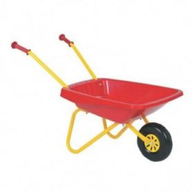 Kruiwagen Kinder Rolly toys kunststof Rood