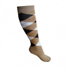 Sokken Stapp Horse Ruit Bruin/beige 31-34