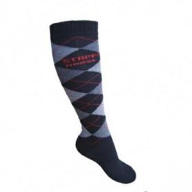 sokken Stapp Horse RUIT zwart 35-38