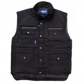 Bodywarmer Pocket zwart XXL