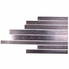 Mestschuif Rubber + RVS bouten voor mestschuif 55 cm