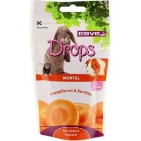 Esve Knaagdier Drops wortel 75 g