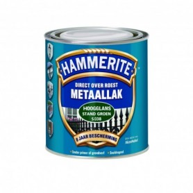 Hammerite Hoogglans S015Z Zilvergrijs 750 ML