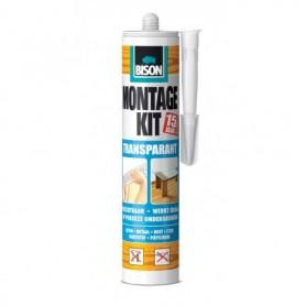 Kit Bison Montagekit Transparant 310 ml Koker