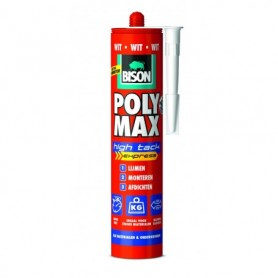 Kit Bison Poly Max High Tack Express Wit 430 gr Koker