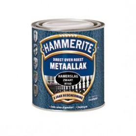 Hammerite Hamerslag F360 Zwart 750 ml Structuur