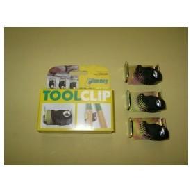 Gereedschapklem Toolclip voor toolrail Jimmy