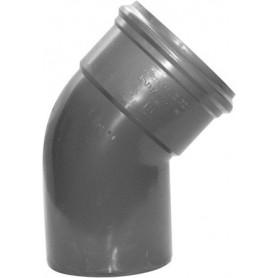PVC Bocht 45 gr manchet x spie 110