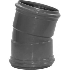 PVC Bocht 15 gr Manchet M/M 125