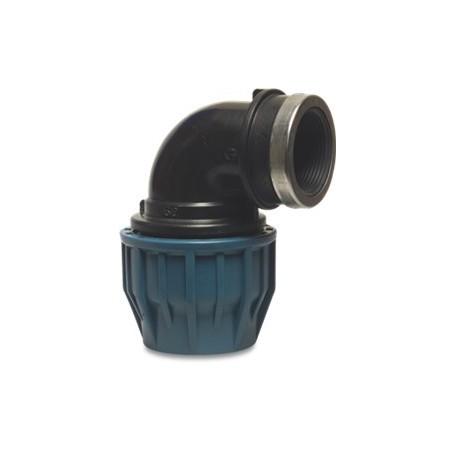 Tileen blauw Knie bi(90) 32 mm x 1/2