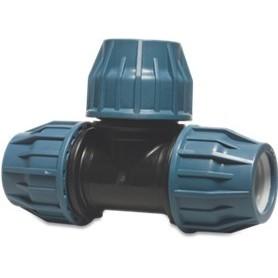 Tileen blauw T-stuk (90) 32 mm