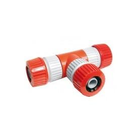 WaterTalen T-VERTAKKING MET 3 SLANGHOUDERS 12-18 mm