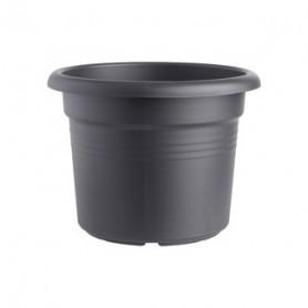 Bloempot ELHO Cilinder Green Basics Black D29H22 9L