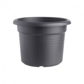 Bloempot ELHO Cilinder Green Basics Black 35 cm
