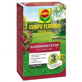 Compo Gazon Floranid met onkruidbestrijder 1,5 kg