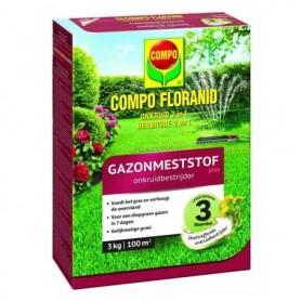 Compo Gazon Floranid met onkruidbestrijder 3 kg