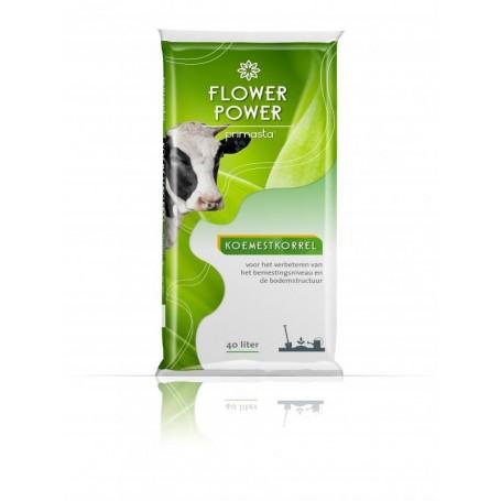 Koemestkorrel Flower 40 liter