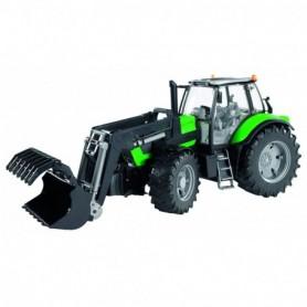 Bruder Tractor Deutz Agrotron X720 met voorlader 1-16