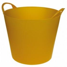 KUIP FLEXIBEL Geel 40 liter