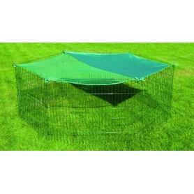 Konijnenren Beschermnet Groen 180 cm