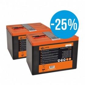 Duopack 175ah batterij 75 jarig jubileum